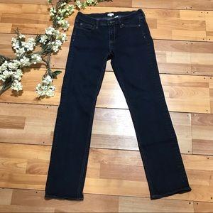 J. CREW Stretch Straight Leg Jeans Size 28 / 31